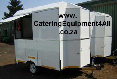 Photo: Coffee Trailer and Malawi Trailer white